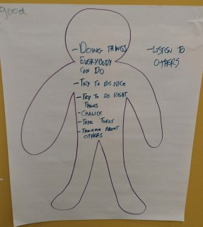 2nd and 3rd graders explored qualities of leadership. How would a UU lead?