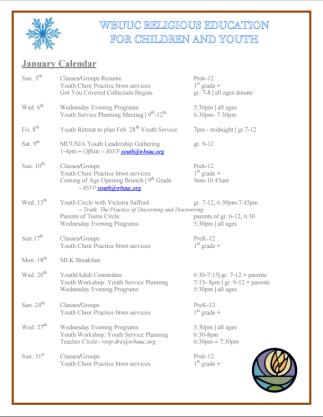 calendar caputre