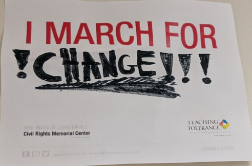 I March For 1